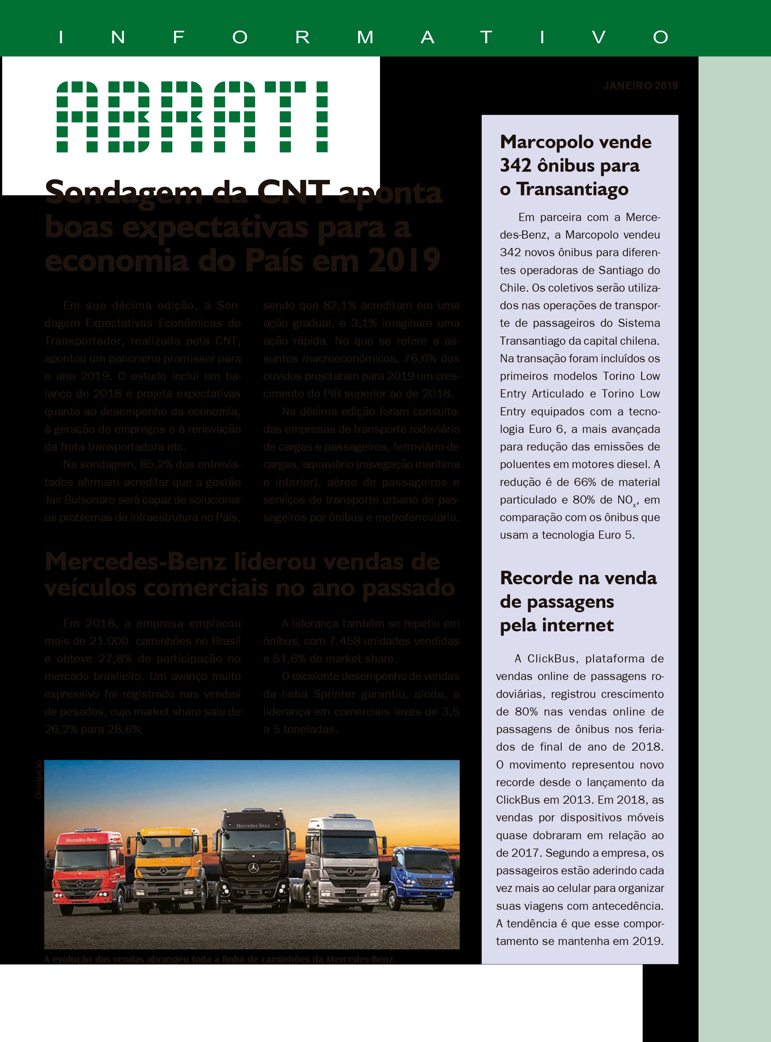 Informativo Janeiro 2019