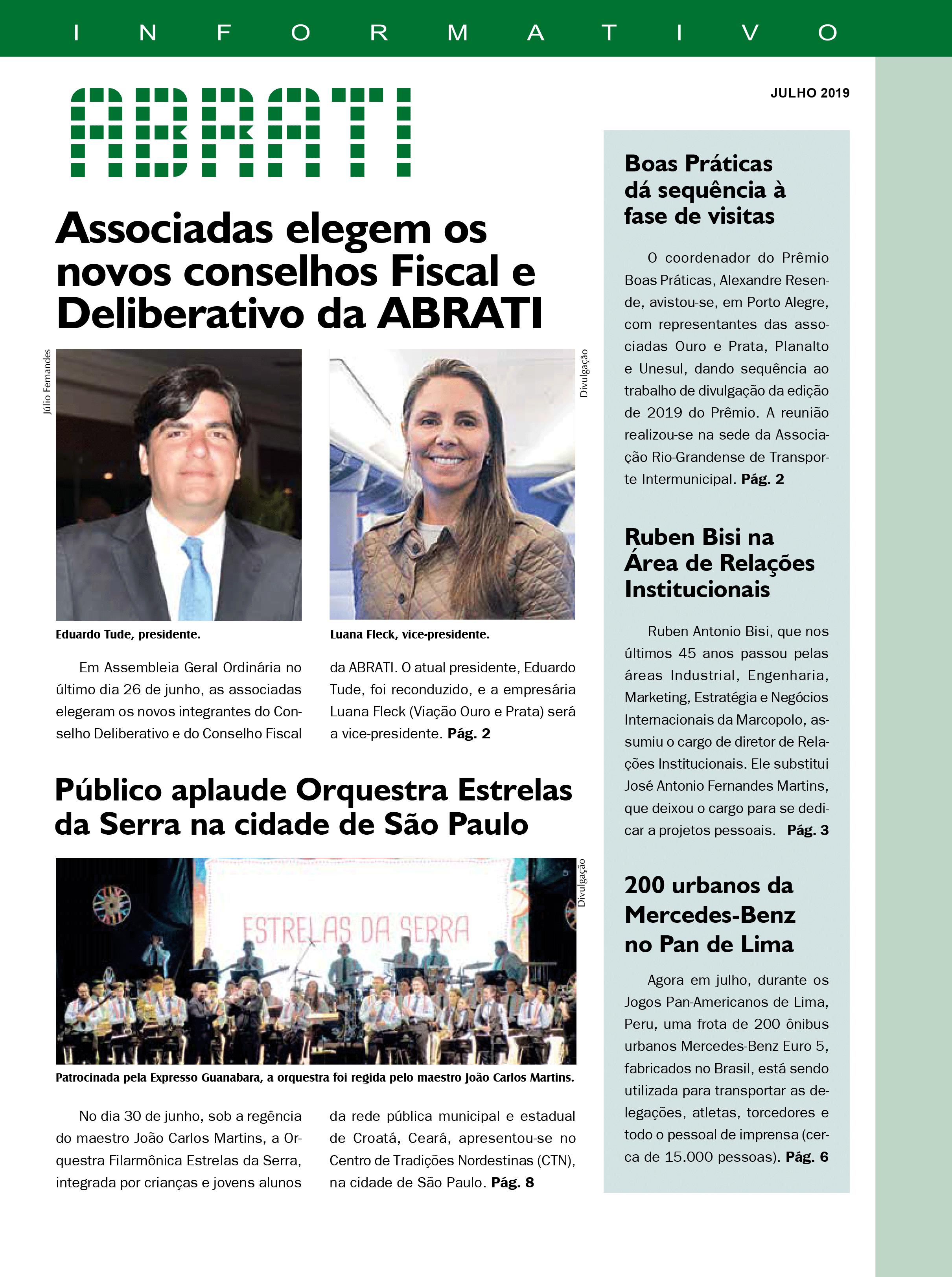 Informativo Julho 2019