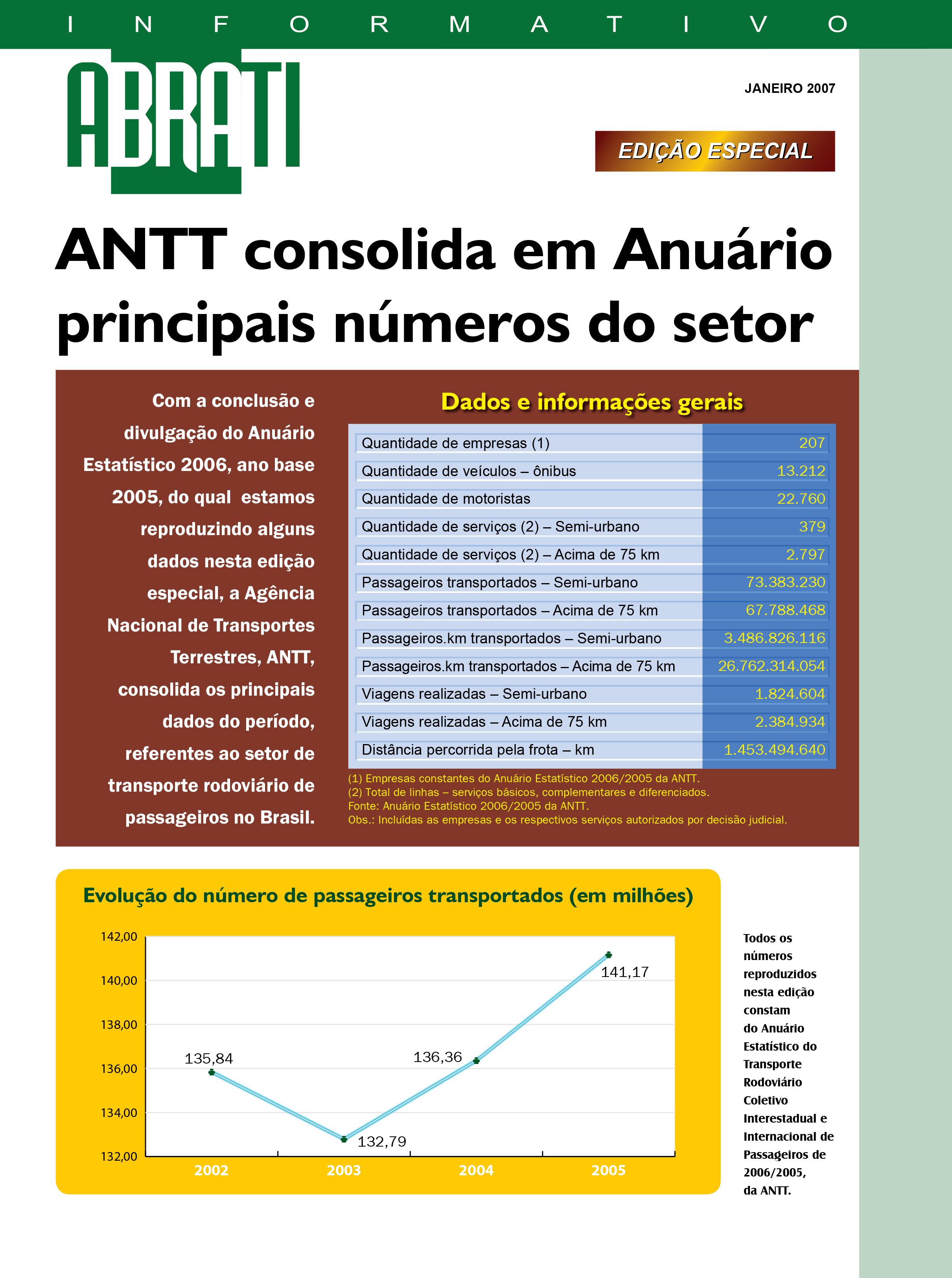 Informativo Especial Janeiro 2007
