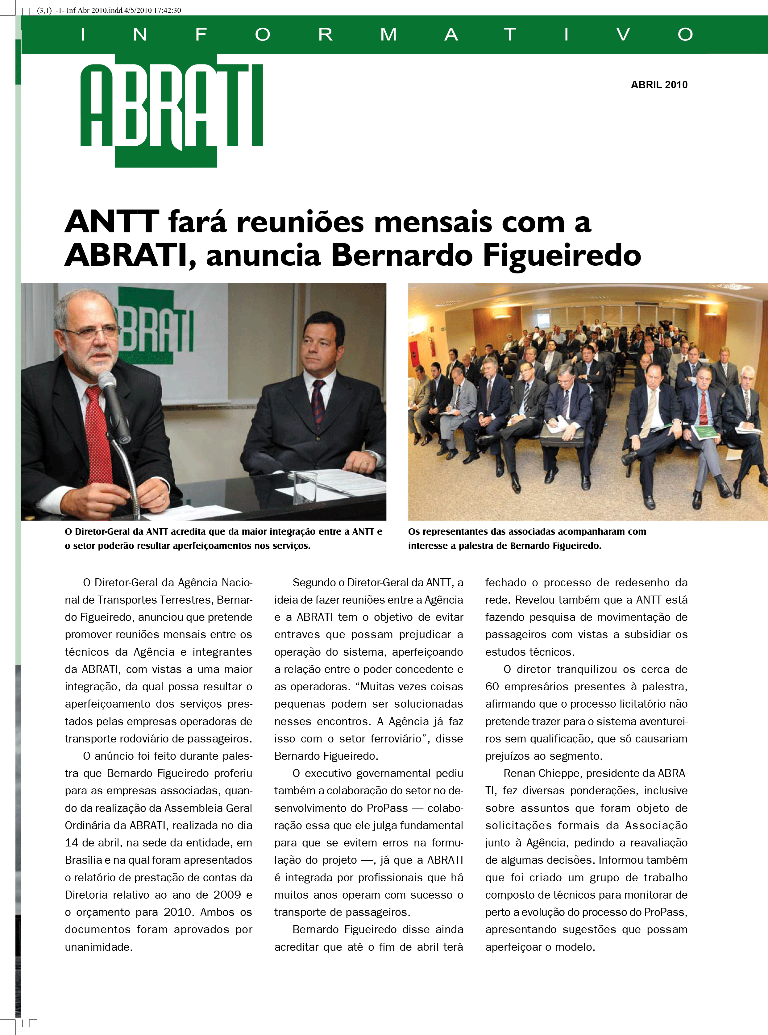 Informativo Abril 2010