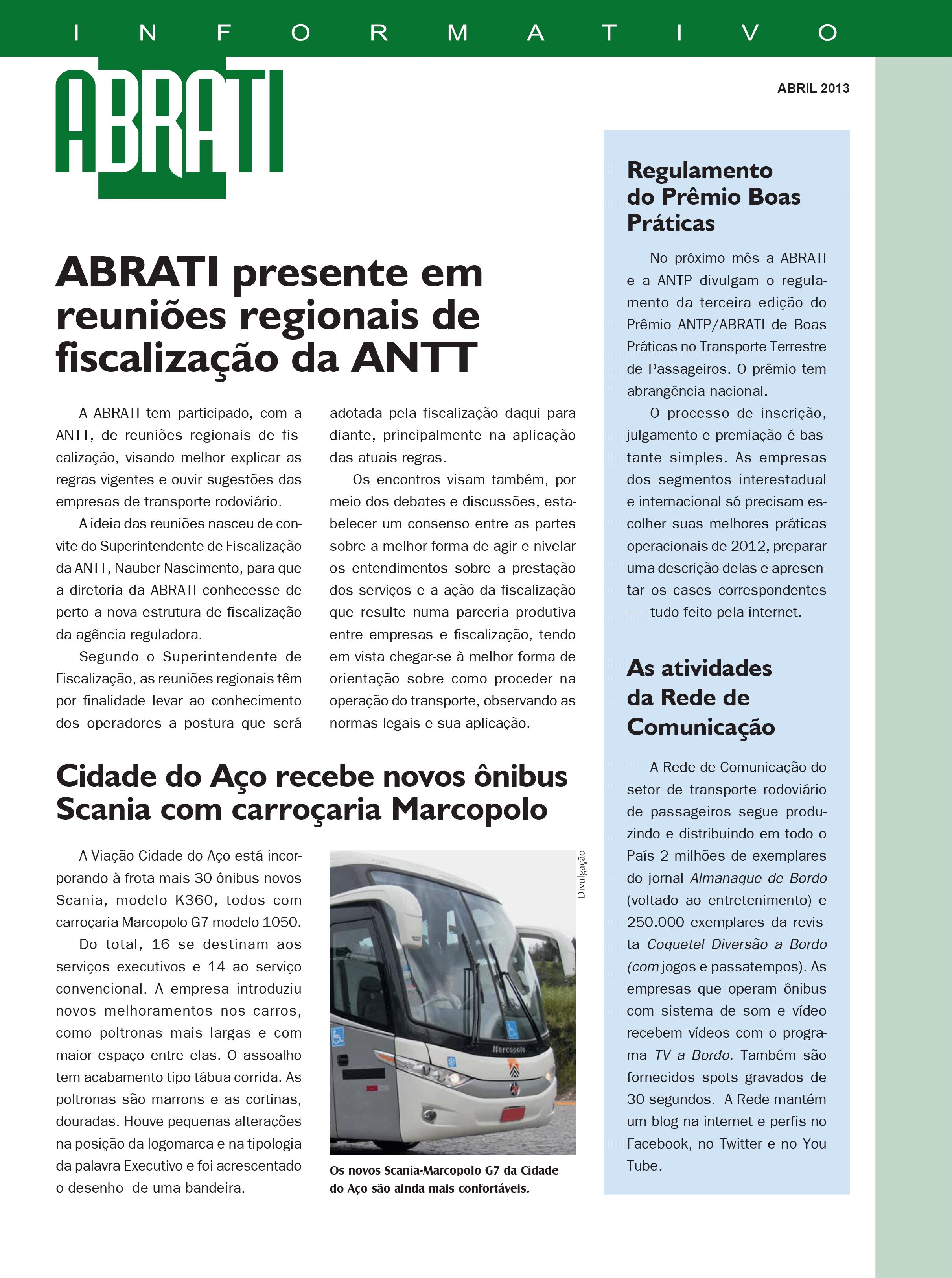 Informativo Abril 2013