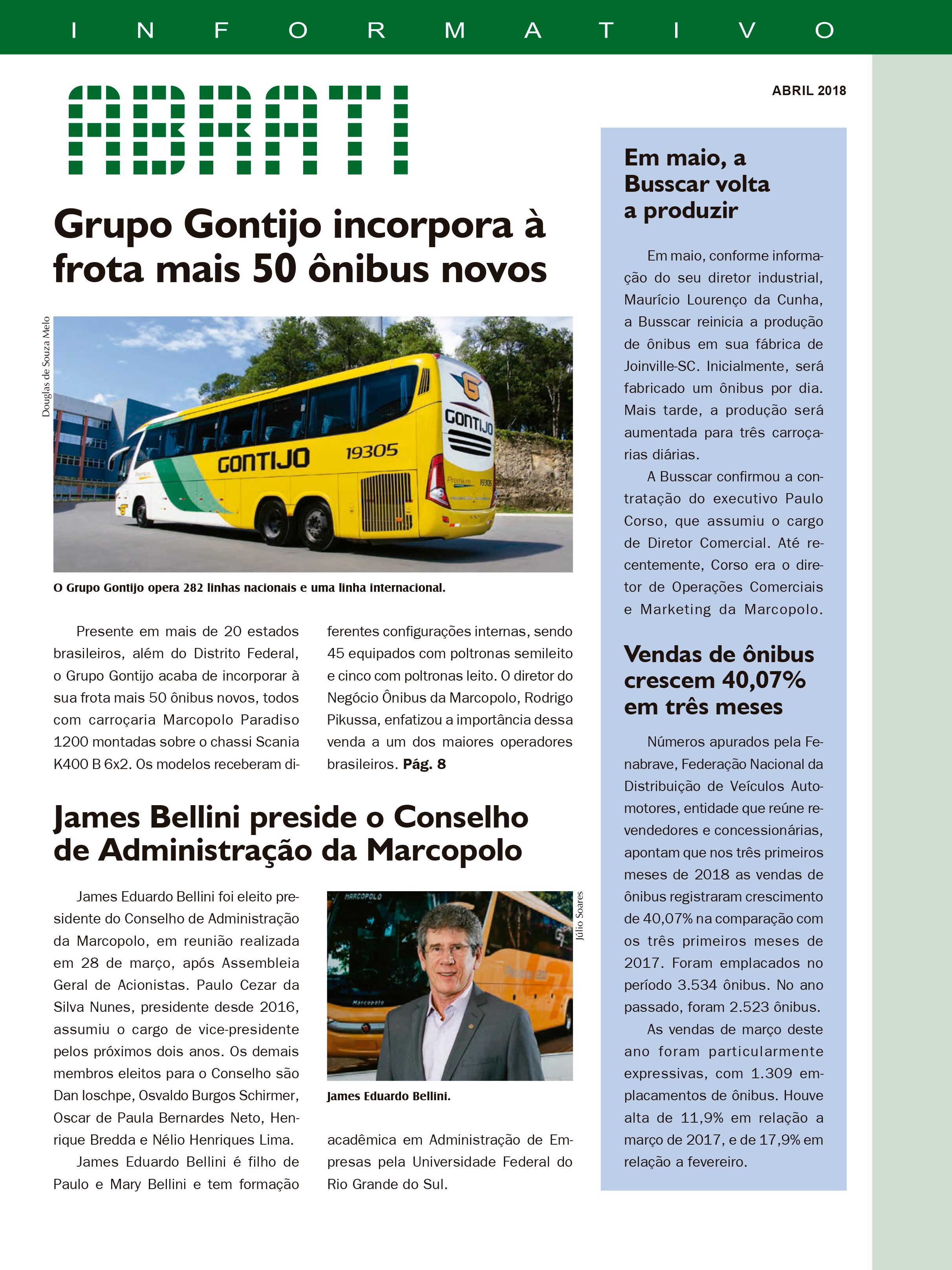 Informativo Abril 2018