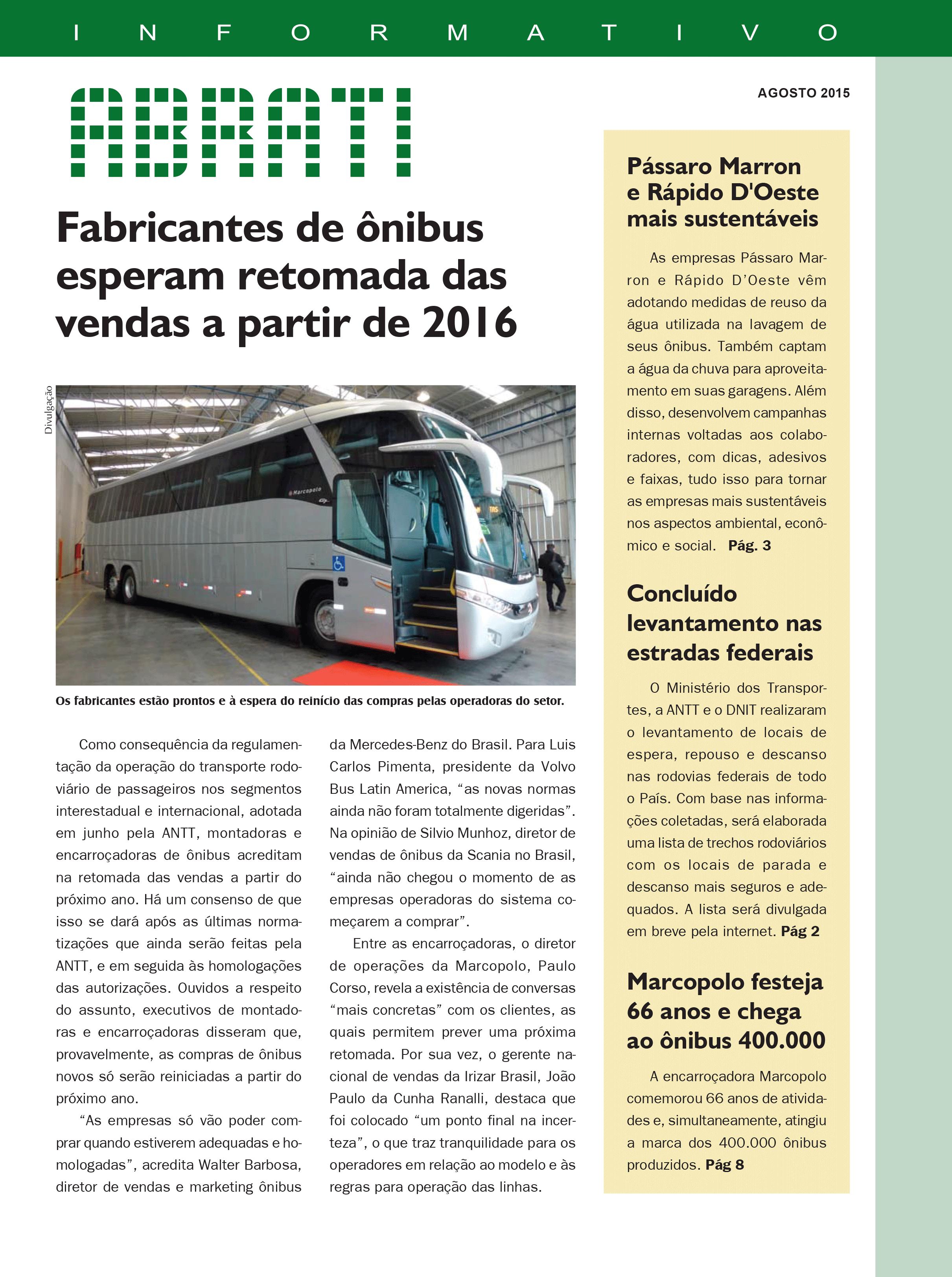 Informativo Agosto 2015