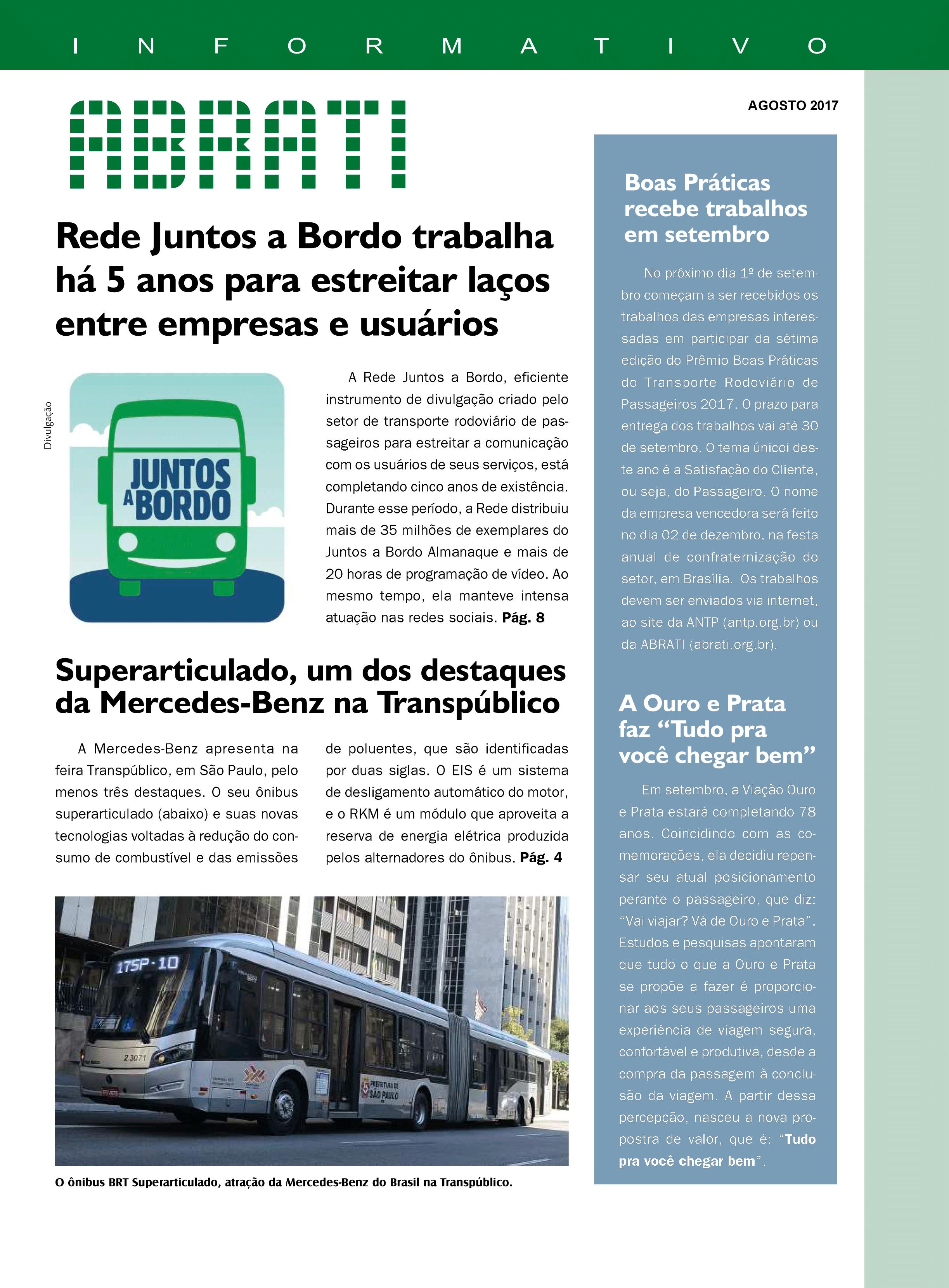 Informativo Agosto 2017