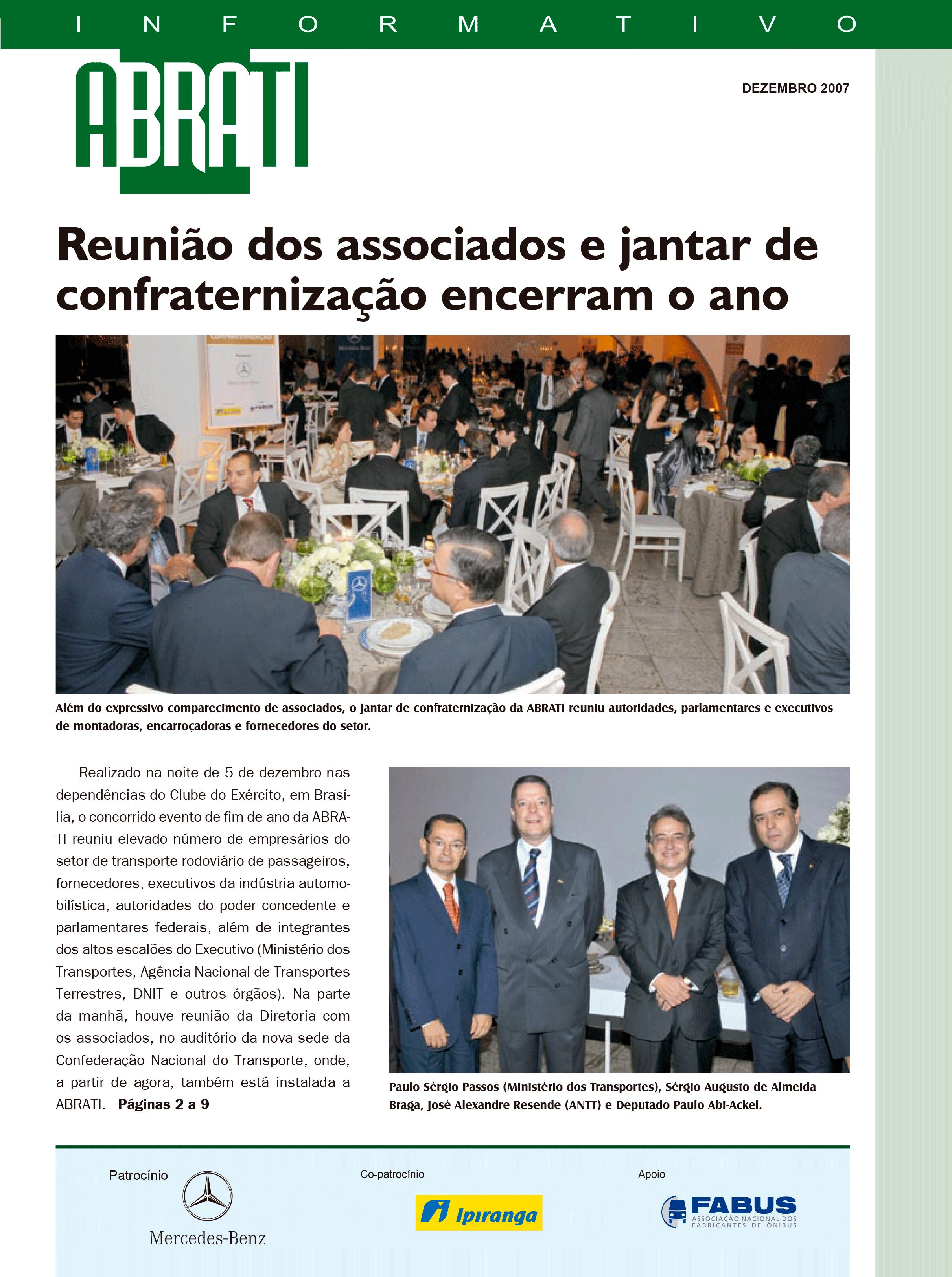Informativo Dezembro 2007