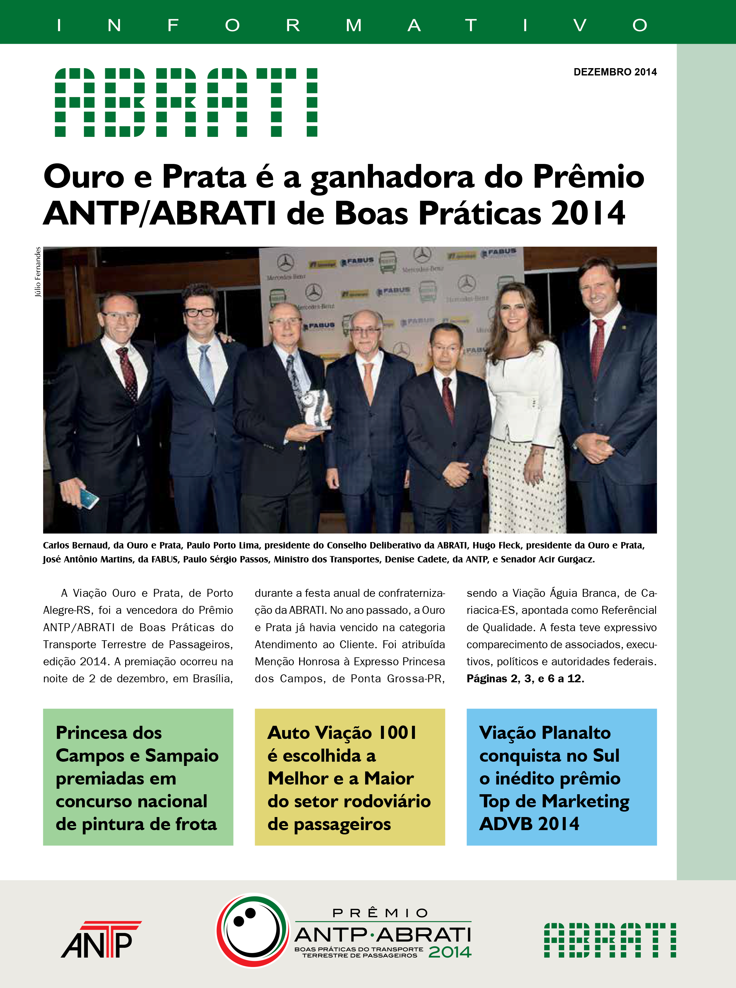Informativos Dezembro 2014