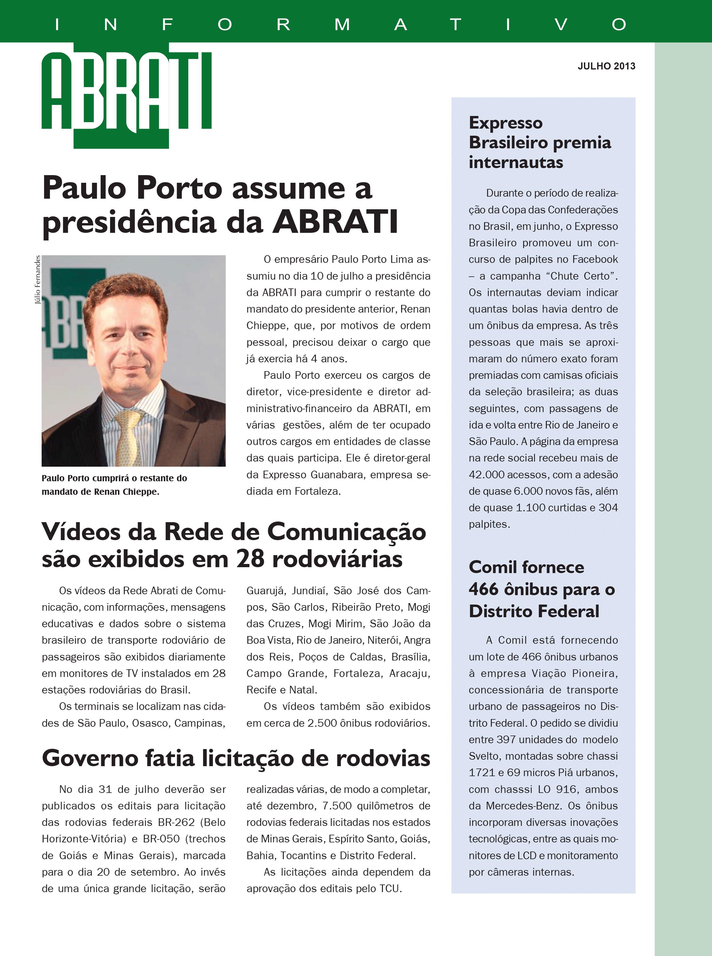 Informativo Julho 2013