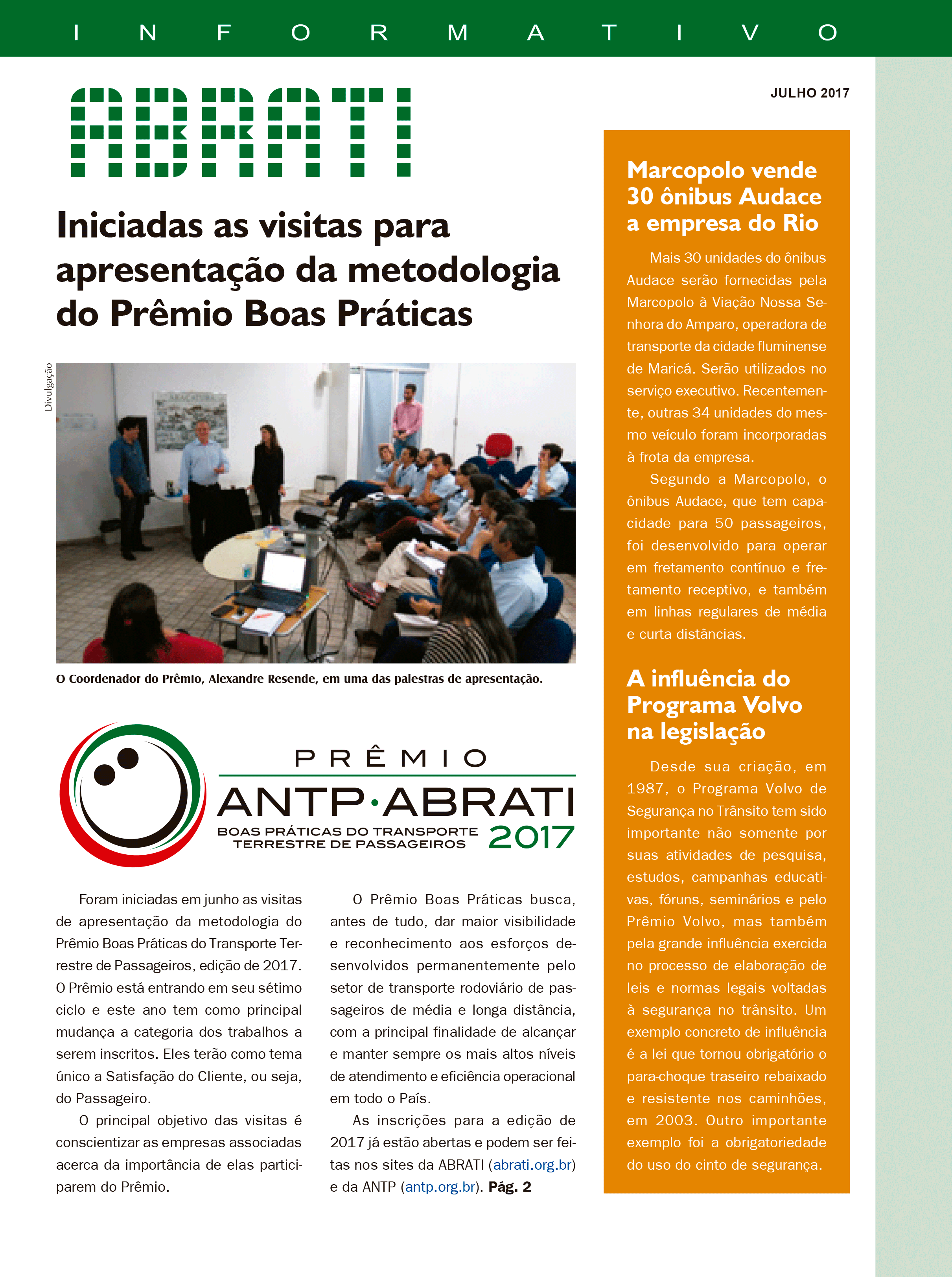 Informativo Julho 2017