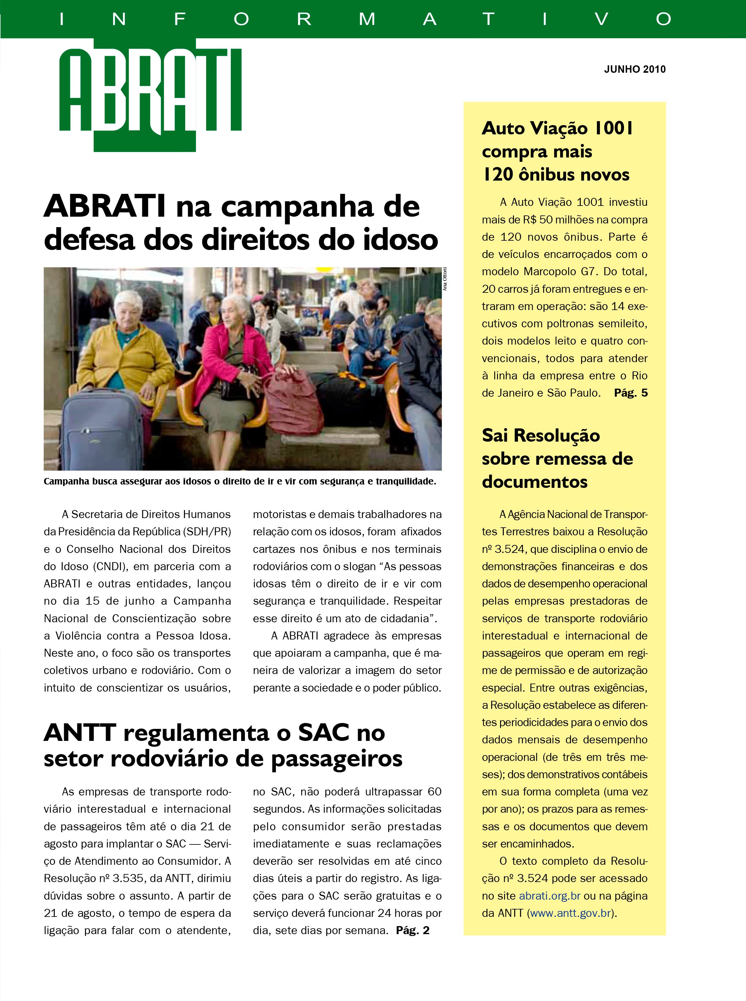 Informativo Junho 2010
