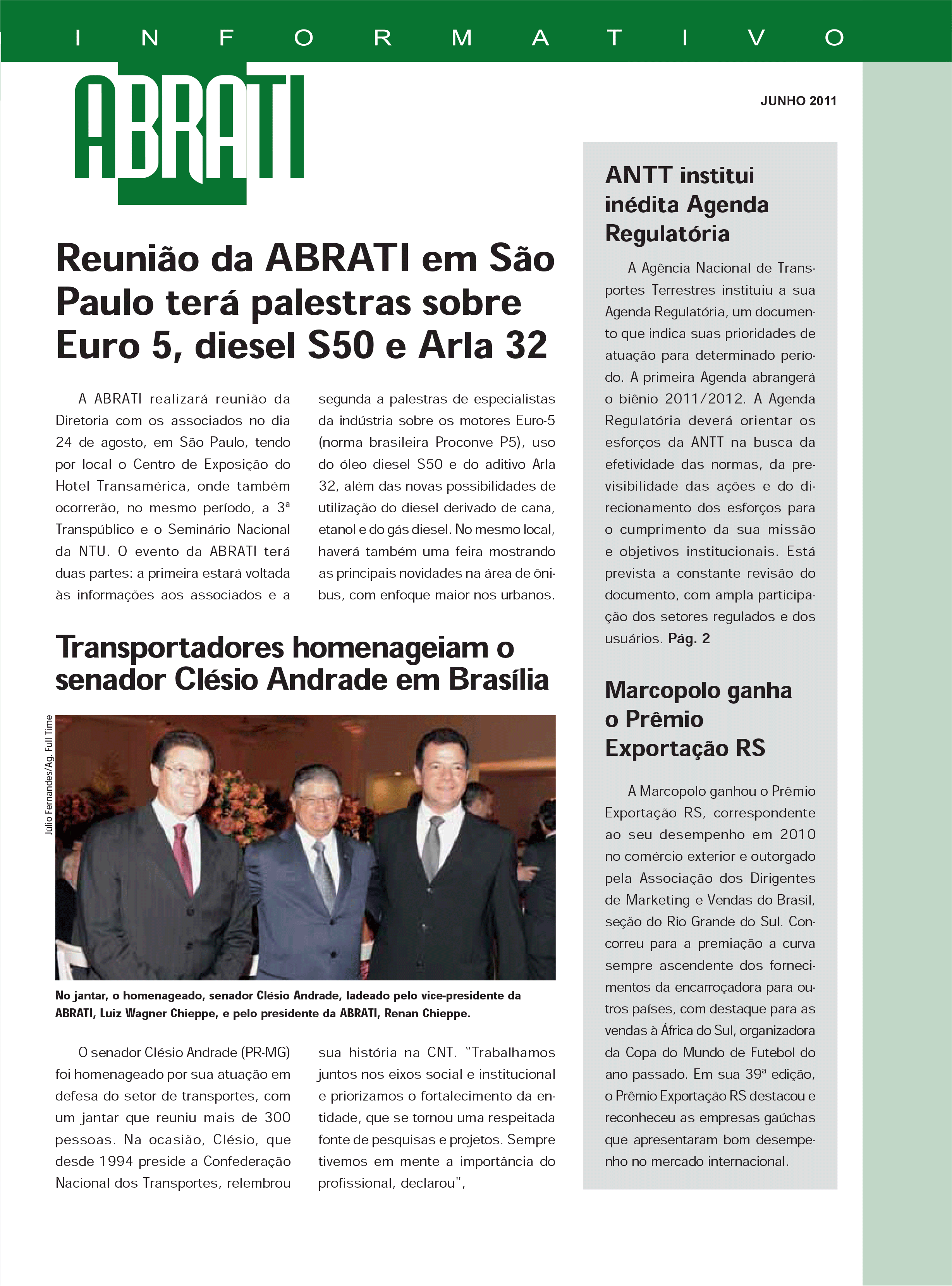 Informativo Junho 2011