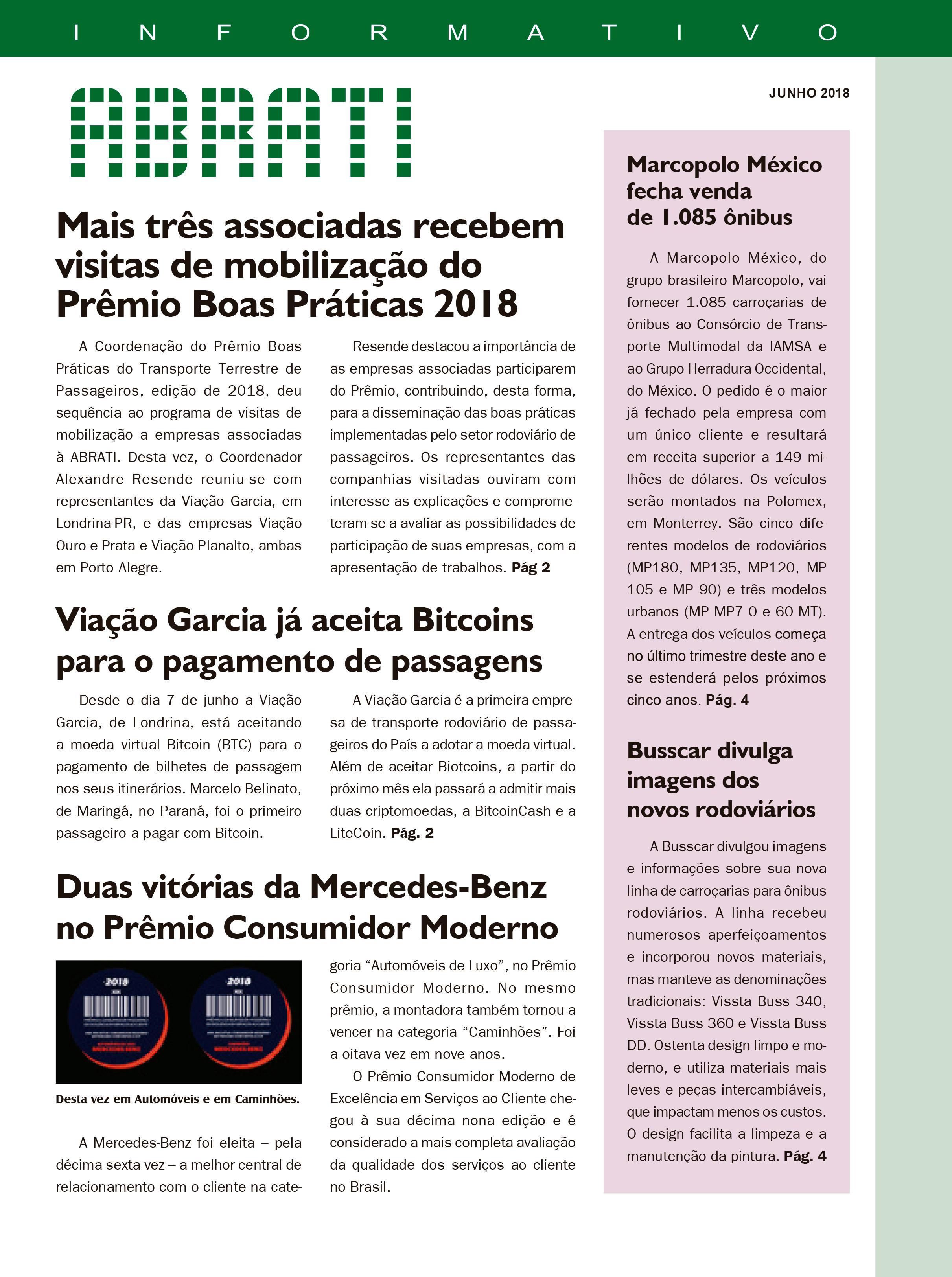 Informativo Junho 2018