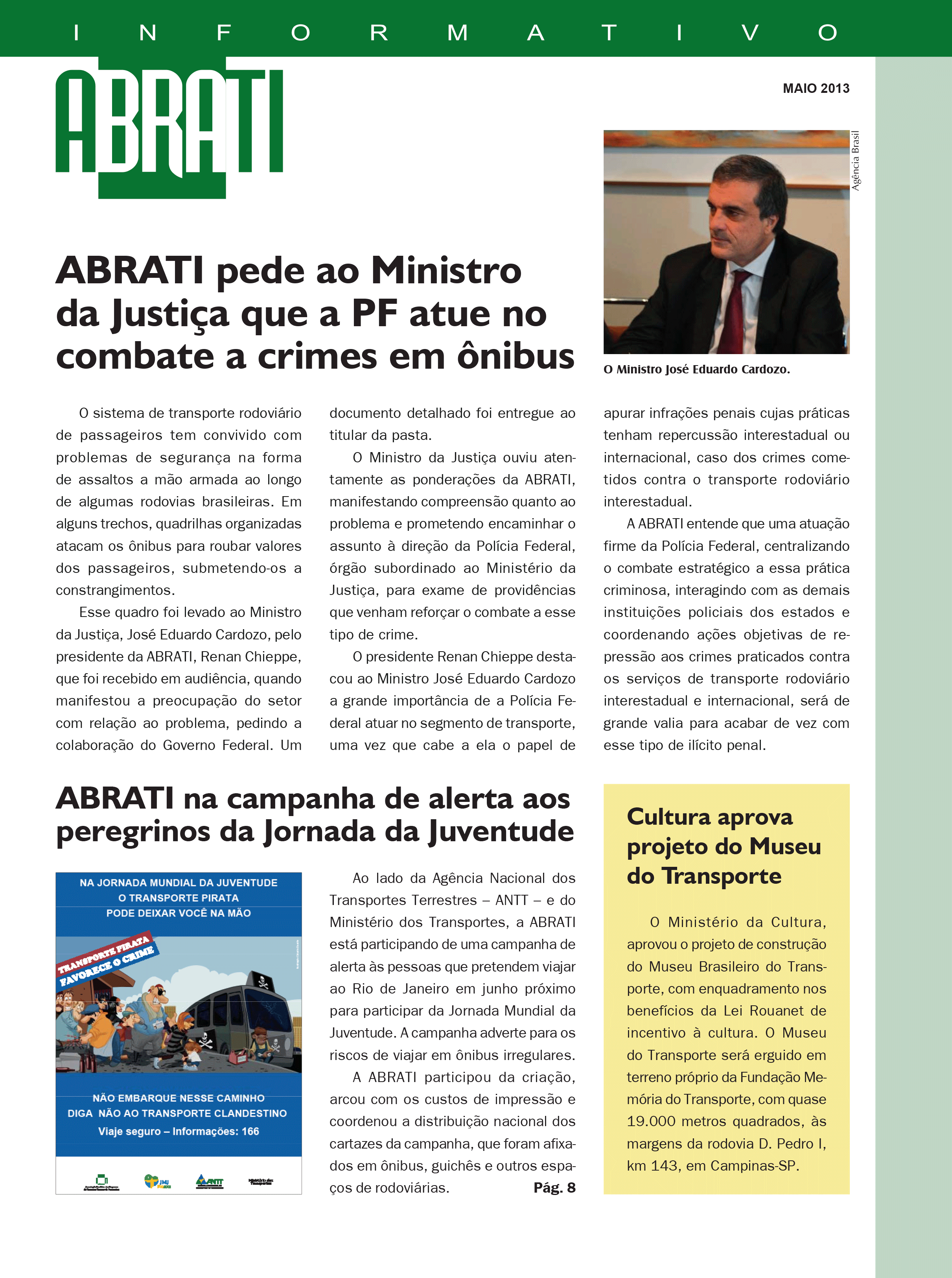 Informativo Maio 2013