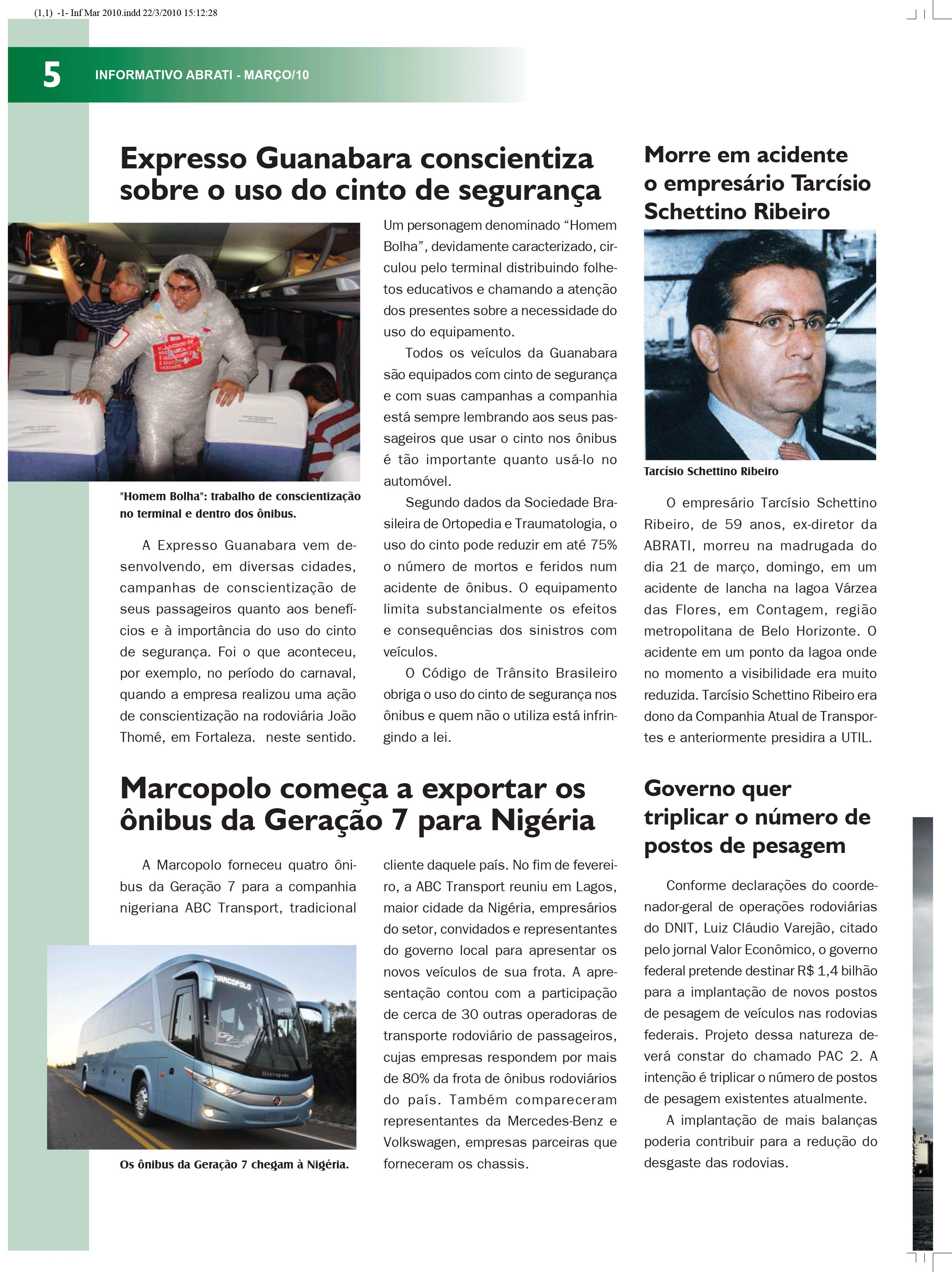 Informativo Março 2010