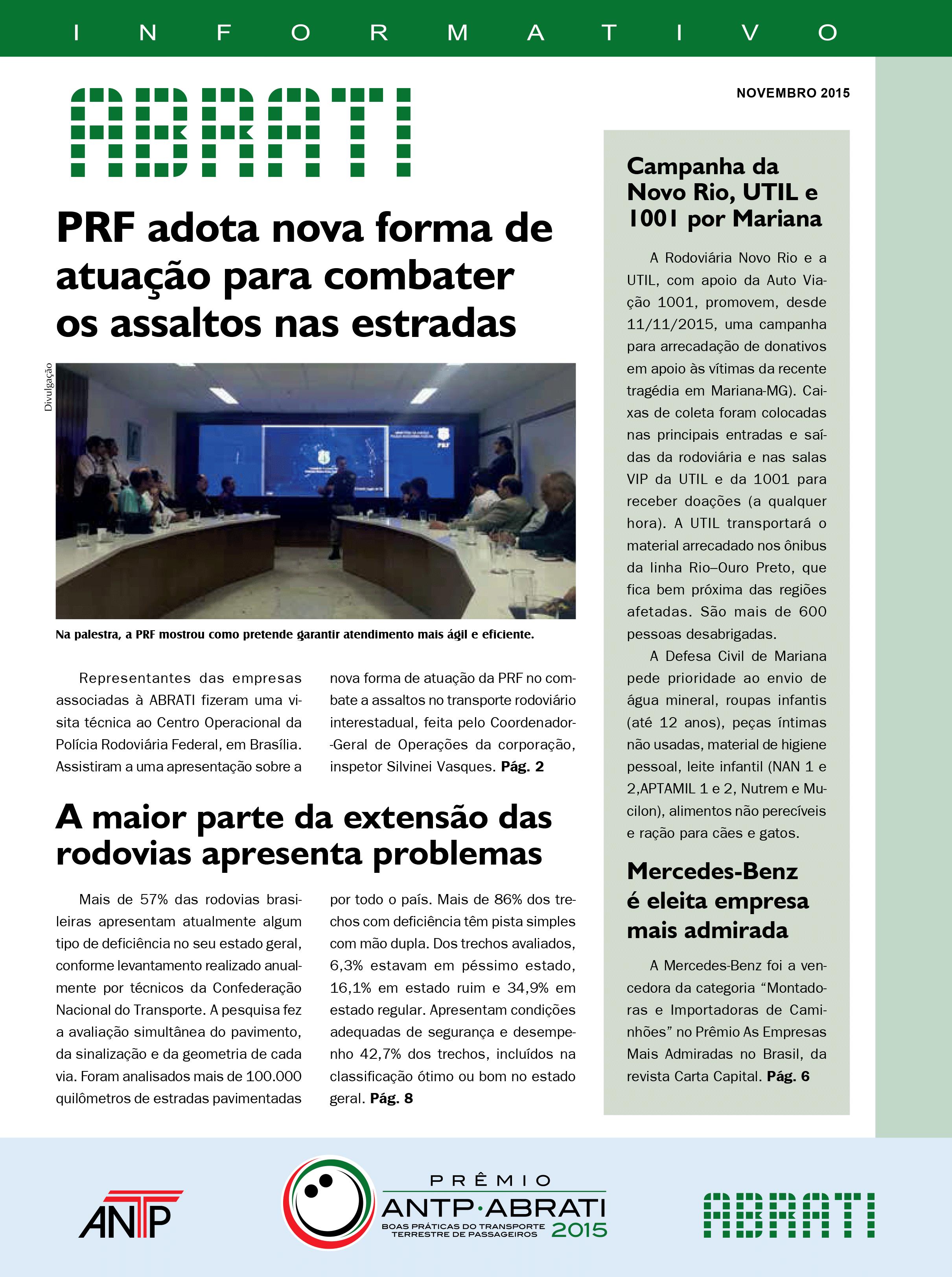 Informativo Novembro 2015