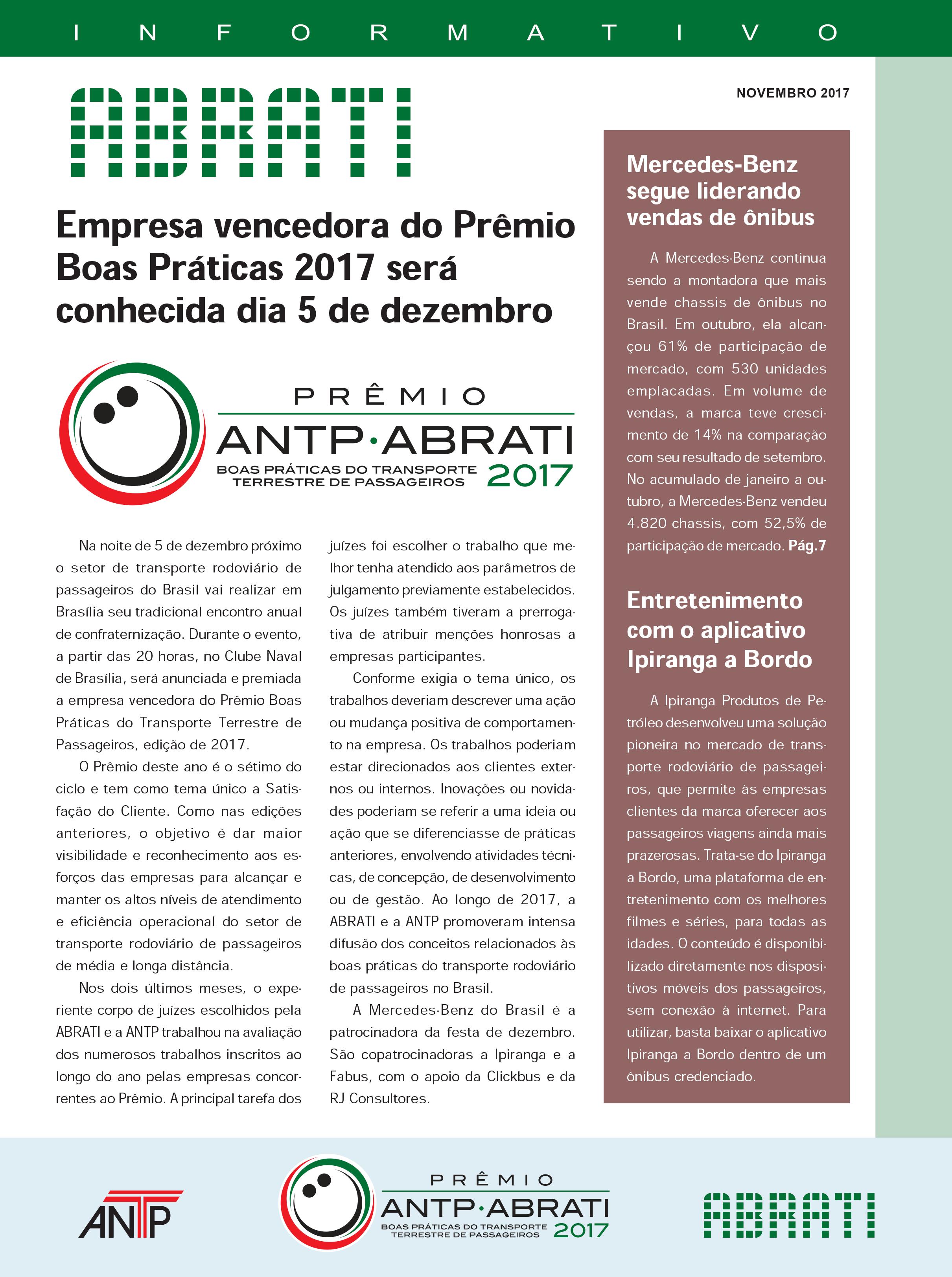 Informativo Novembro 2017