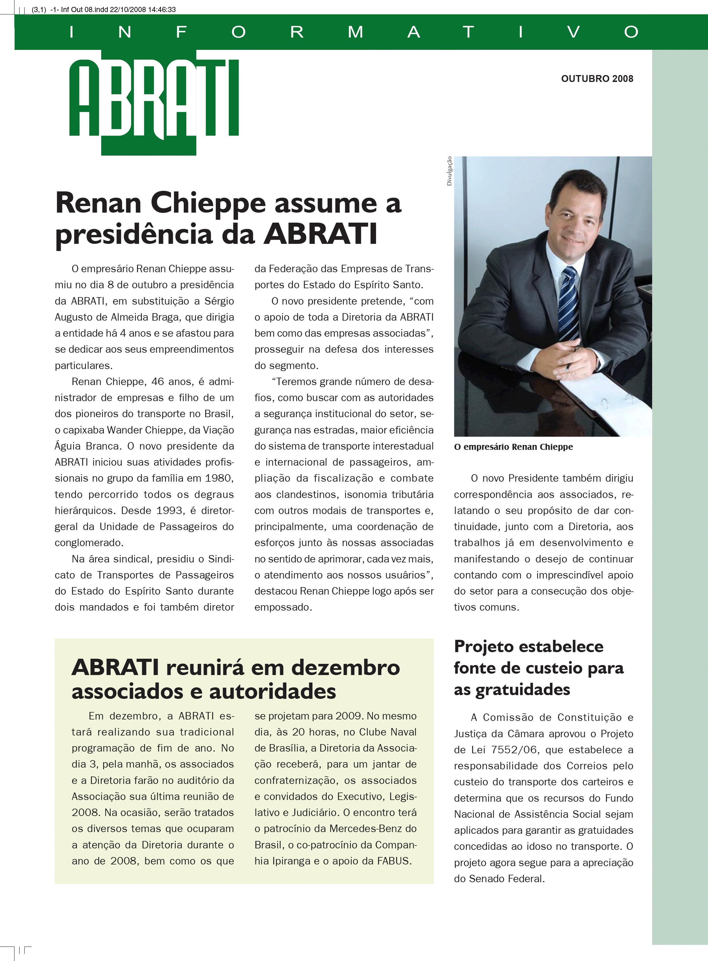 Informativo Outubro 2008