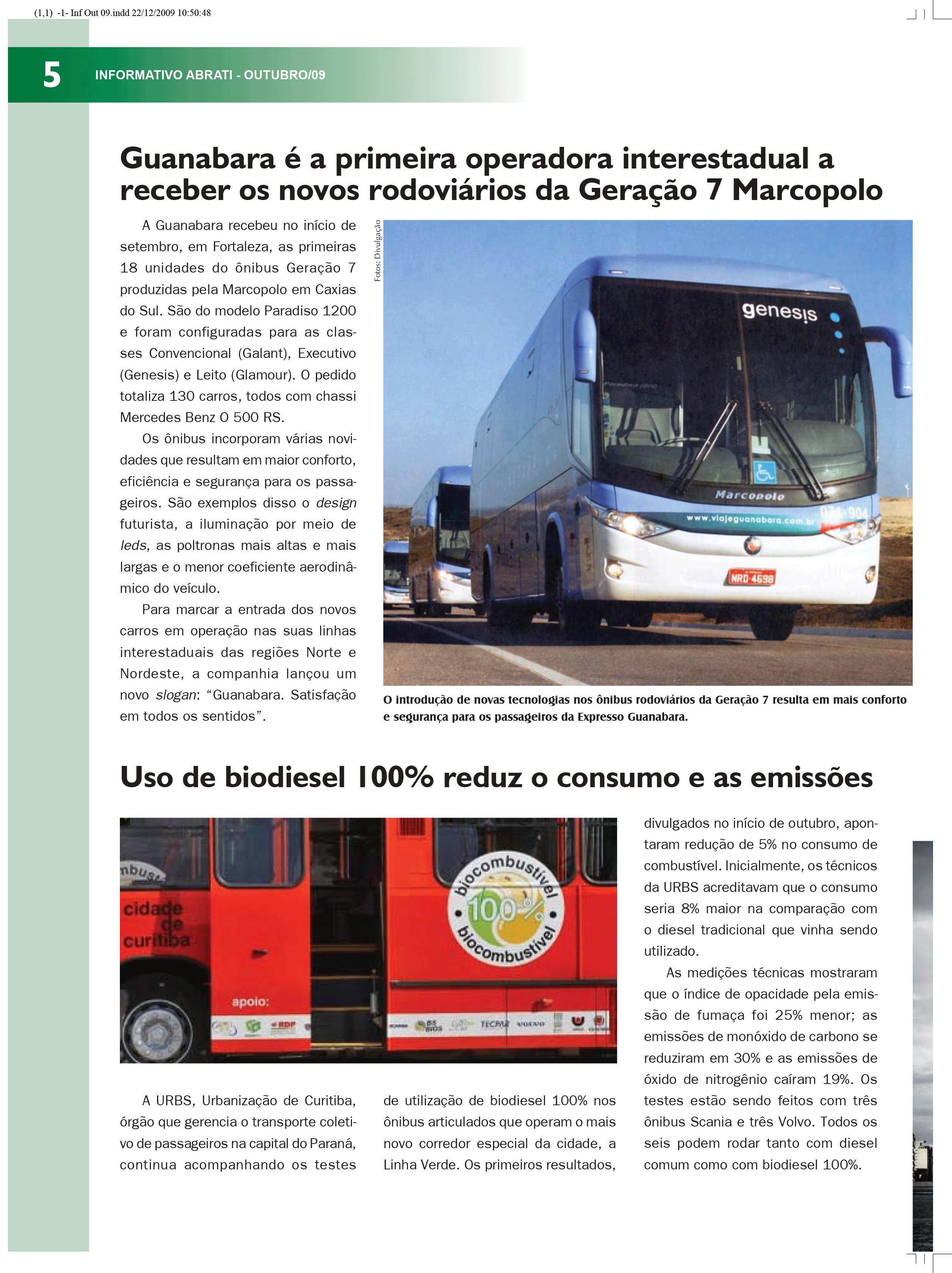 Informativo Outubro 2009