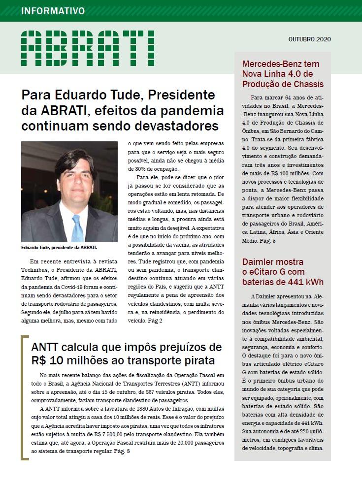 Informativo Outubro 2020